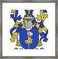 Fahey Coat Of Arms Irish Framed Print