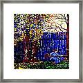 Fall Music 2012 Framed Print