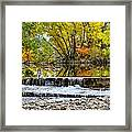 Fall On The Poudre Framed Print by Baywest Imaging