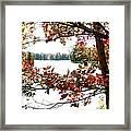 Fall Paints A Picture Framed Print