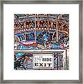 Fall River Ride Exit Framed Print