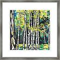 Fall To Pieces Framed Print