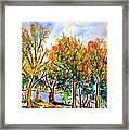 Fall2014-12 Framed Print by Vladimir Kezerashvili