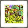 Fallen Log World Framed Print