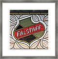 Falstaff Window Framed Print