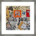Fancy Mosaic Framed Print
