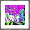 Fantasy Painted Dream Horse Framed Print