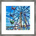Ferris Wheel - Balboa Fun Zone Framed Print
