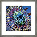 Ferris Wheel, Kentucky State Fair Framed Print