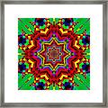 Festive Colors Framed Print
