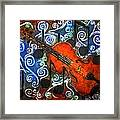 Fiddle - Violin Framed Print