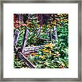 Fields And Fences Of Wawona In Yosemite National Park Framed Print