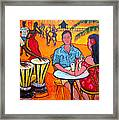 Fiesta At The Beach Framed Print