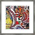 Fiesta Parade Framed Print