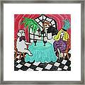 Fifi's Night Out Framed Print