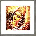 Fighting Goddess Framed Print