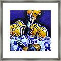 Fighting Tigers Of Lsu Framed Print by Terry J Marks Sr