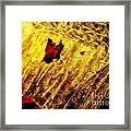 Fire Of The Frost Framed Print