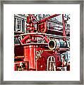 Fireman - Antique Brass Fire Hose Framed Print by Paul Ward