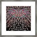 Fireworks Phoenix Framed Print