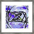 Firmament Cracked #4 - Entrapment Framed Print by Mathilde Vhargon