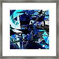 Firmament Cracked #9 - All Which Once Was Beautiful Framed Print