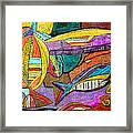 Fish And Chips Framed Print
