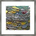 Fish Net Hdr Framed Print