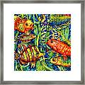 Fish Tales IIi Framed Print