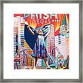 Fishman In Vegas Framed Print