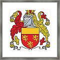Fitzhenry Coat Of Arms Irish Framed Print