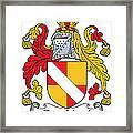 Fitznicol Coat Of Arms Irish Framed Print