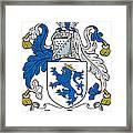 Fitzrery Coat Of Arms Irish Framed Print