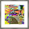 Fixing Space 6a Framed Print