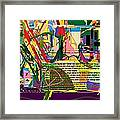 Fixing Space 6f Framed Print by David Baruch Wolk