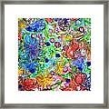 Flagrantly Floral Framed Print