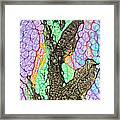 Flair Abstract Painting Framed Print