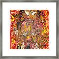 Flaming Nude Framed Print