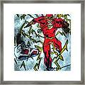 Flash Of The 6 Framed Print