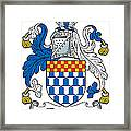 Fleming Coat Of Arms Irish Framed Print