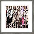 Flip Flops By Jan Marvin Framed Print