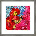 Floral Abstract Part 1 Framed Print