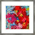 Floral Abstract Part 3 Framed Print