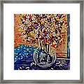 Floral Bliss Framed Print