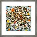 Floral Chaos Framed Print