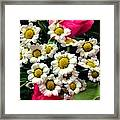 Floral Decoration Framed Print