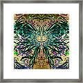 Floral Synapse 2 Framed Print