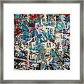 Flower Abstract Framed Print