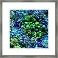 Flower Arrangment, Full Frame Framed Print