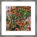 Flower Ballet Framed Print